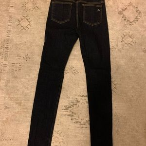Rag and bone high rise skinny jean